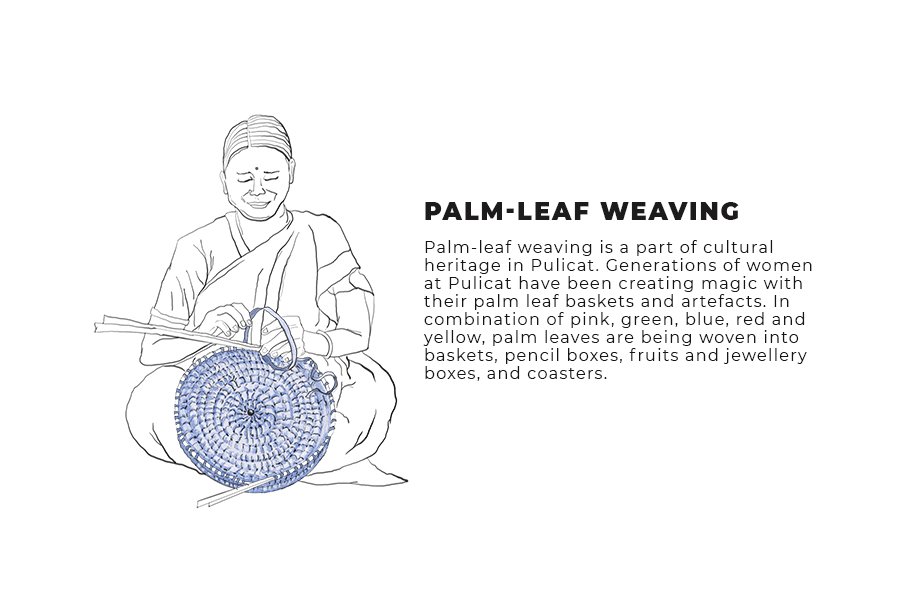 palm leaf weaving